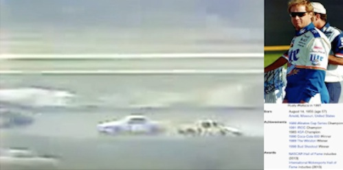 Rusty Wallace's first crash / Headline Surfer