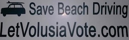 Save Beach Driving / Let Volusia Vote / Headline Surfer®