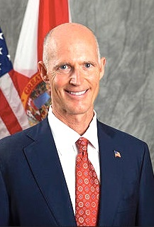 Gov. Rick Scott won the GOP primary in Florida & Volusia County / Headline Surfer®