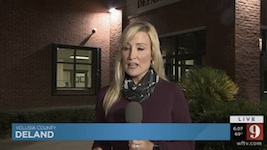 WFTV ch 9 Orlando news crew gets nothing from DeLand PD on double homicide shooting / Headline Surfer