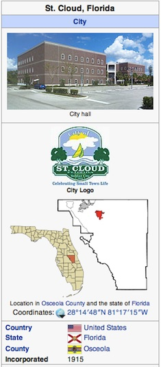 St. Cloud, FL is part of the award-winning 24/7 internet newspaper coverage / Headline Surfer®