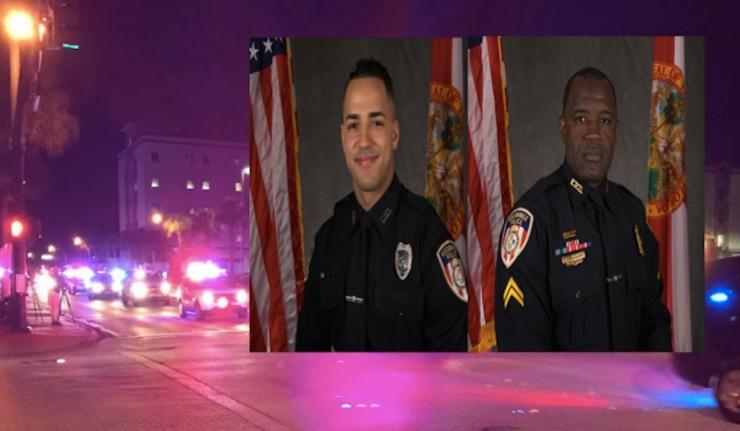 Thousands Attend Funeral For Kissimmee Officers