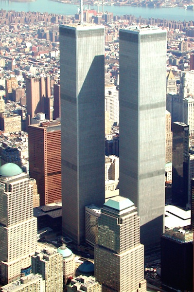 Twin Towers as they looked before the 9/11 terrorist attack / Headline Surfer