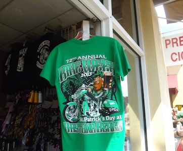 Bike Week Irish T-shirts on sale / Headline Surfer