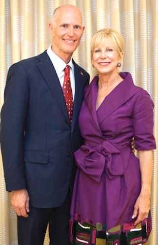 Florida Gov. Rick Scott & wife, Ann, on blessings of Easter & Passovr / Headline Surfer®