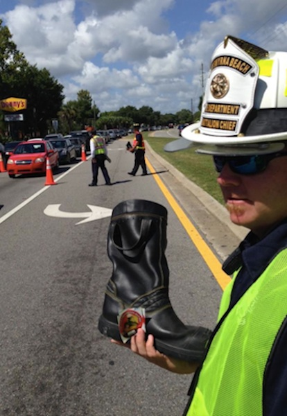 NSB firefighters collect money for muscular dystrophy / Headline Surfer®