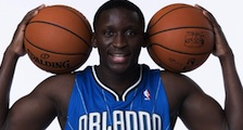 Victor Oladipo leads Orlando Magic over NY Knicks Friday night at Amway Arena / Headline Surfer®