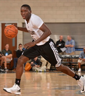 Victor Oladipo, shown here in summer pro league, signs with Orlando Magic / Headline Surfer