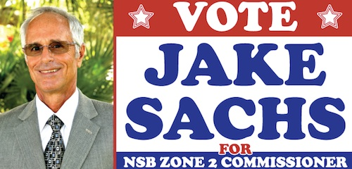Jake Sachs endorsed for NSB City Commission / Headline Surfer®