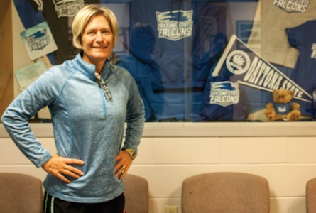 DSC cross country coach Judy Wilson / Headline Surfer