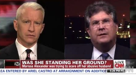 Attorney Bruce Zimet of Fort Lauderdale appears on CNN / represented stand your ground / Headline Surfer®