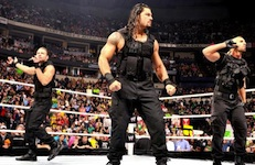 The Shield: Ambrose, Reigns and Rollins / WWE.com
