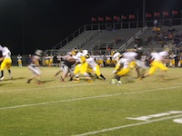 Winter Haven runs a play early in third quarter