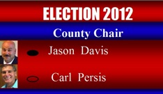 Jason Davis wins County Chair race over Carl Persis