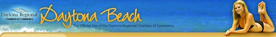 Daytona AreaChaber of Commerce banner / Headline Surfer
