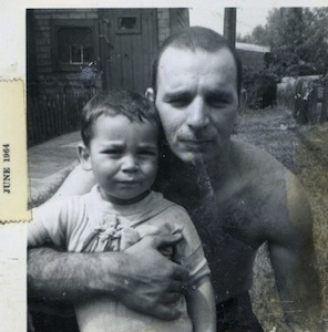 Henry Frederick as a toddler with his father, Henry Frederick, Jr.