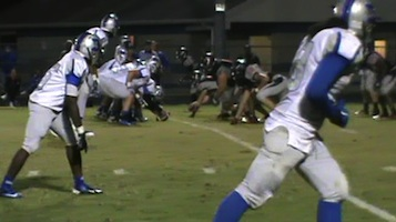 Deltona Wolves could not get going on offense en route to a 56-0 loss to NSB.