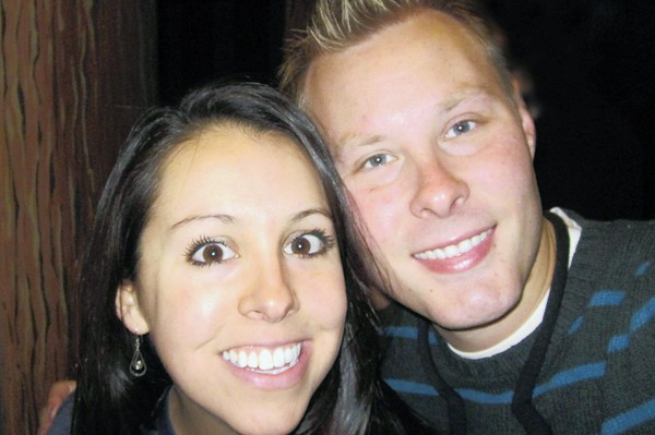 Stetson University student Jason Sauter and his girlfriend, Nancy Vidarte.