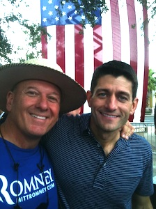 Jim Oddie with Paul Ryan