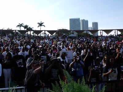 Trayvon Martin rally in Miami / NSBNews.net
