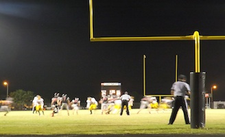 Winter Haven drives the ball